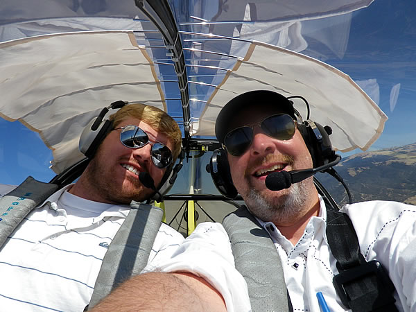 Flying the Evektor SportStar LSA at AeroDynamic Aviation Flight Training School Salinas San Jose San Francisco Bay Area