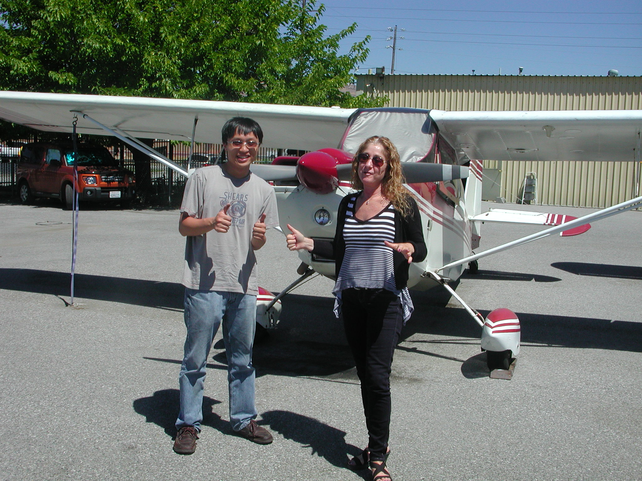Matthew Lai passes private pilot checkride at AeroDynamic Aviation located at Reid Hillview Airport in San Jose, CA.