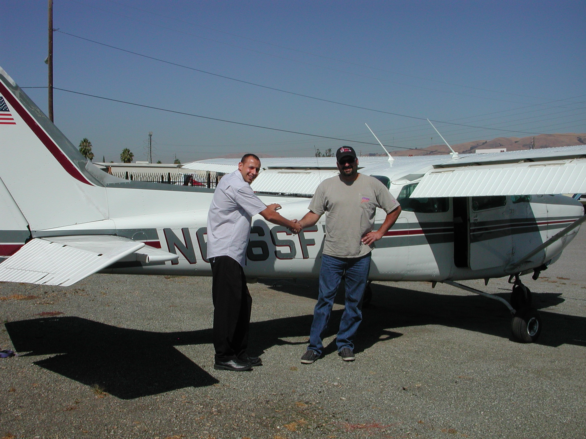 Dave Presta received complex endorsement at AeroDynamic Aviation located at Reid Hillview Airport in San Jose, CA.