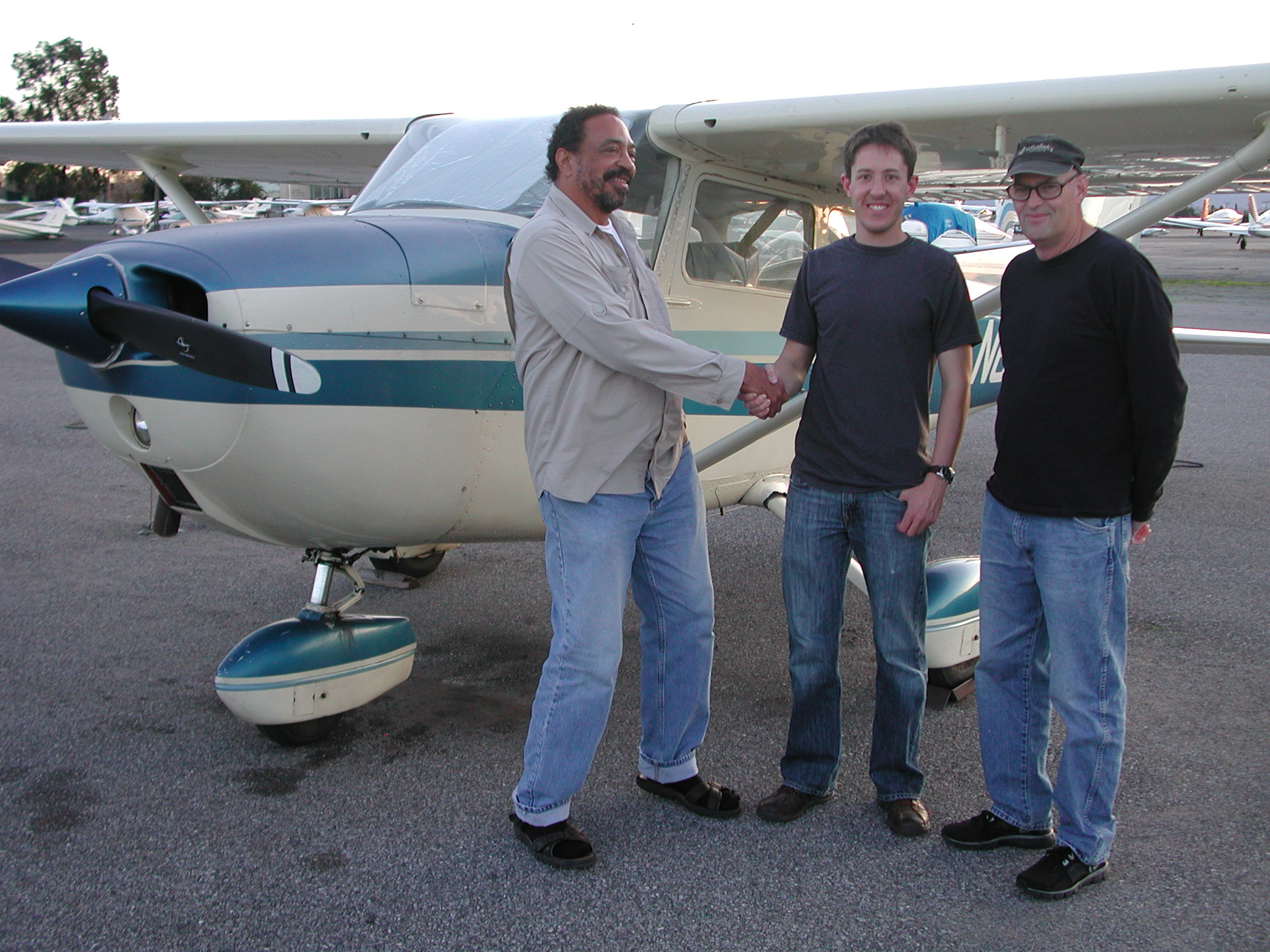 Andrew Snyder passed  private Checkride