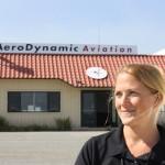 Jen Delp-Mallet, tailwheel instructor, aerobatics, CFI, CFII, MEI