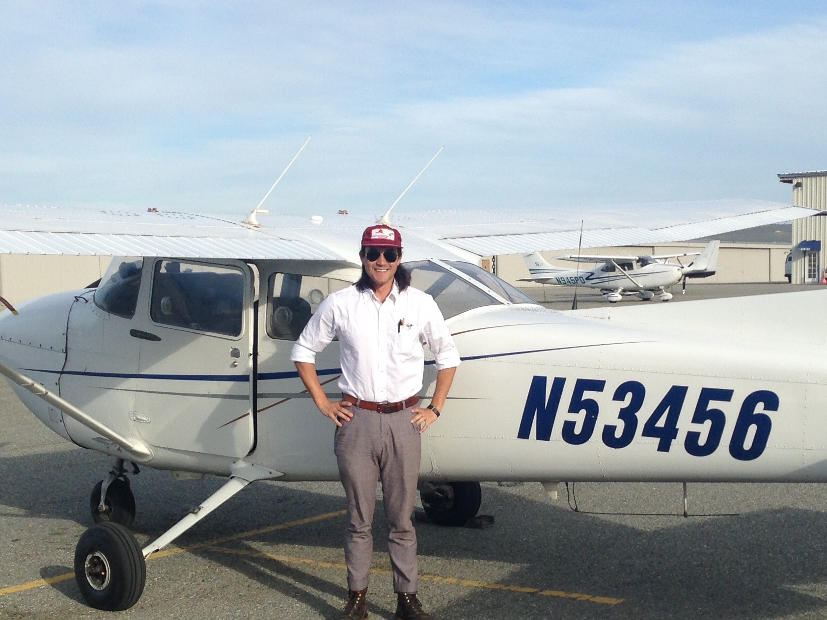 Travis Geske, Private Pilot