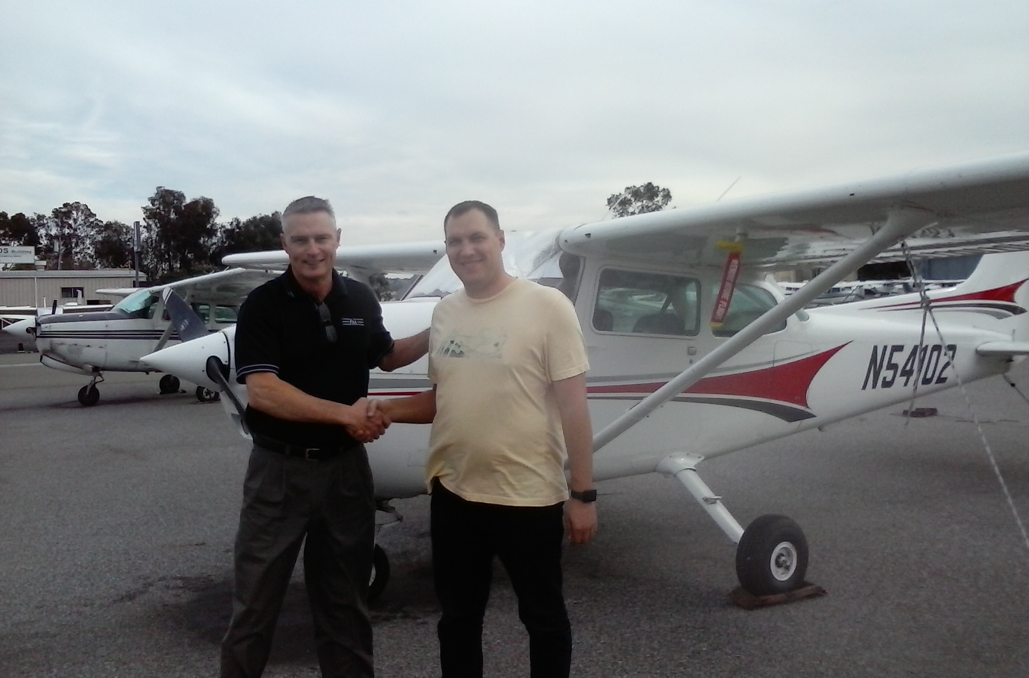 Private Pilot Checkride PAssed after flight training at AeroDynamic Aviation San Jose