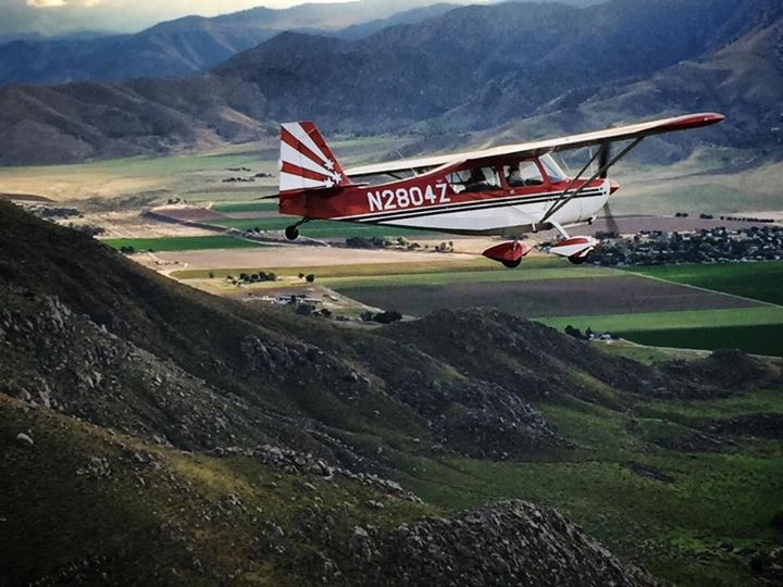 Photo by Ryan Radcliff, Aerobatics in Kern Valley