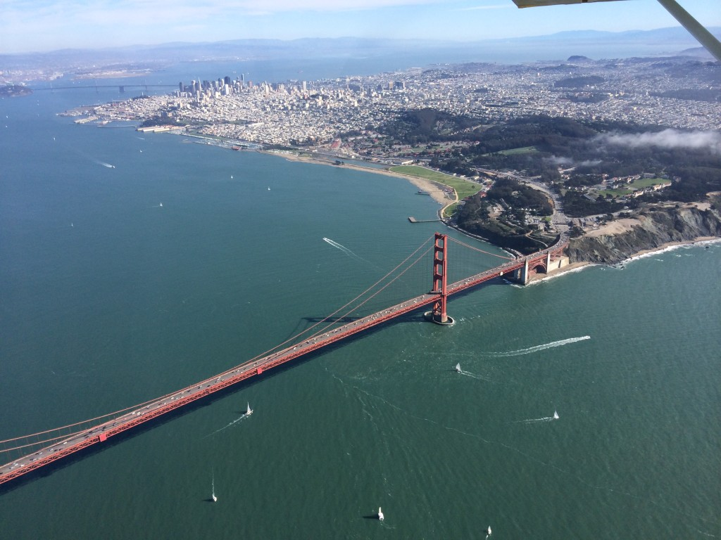 Bay Area, golden gate bridge, san francisco, flight, tour