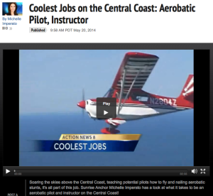 Aerobatics, acrobatic, KSBW news
