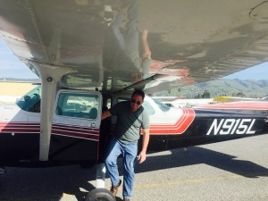 first solo, Cessna 172