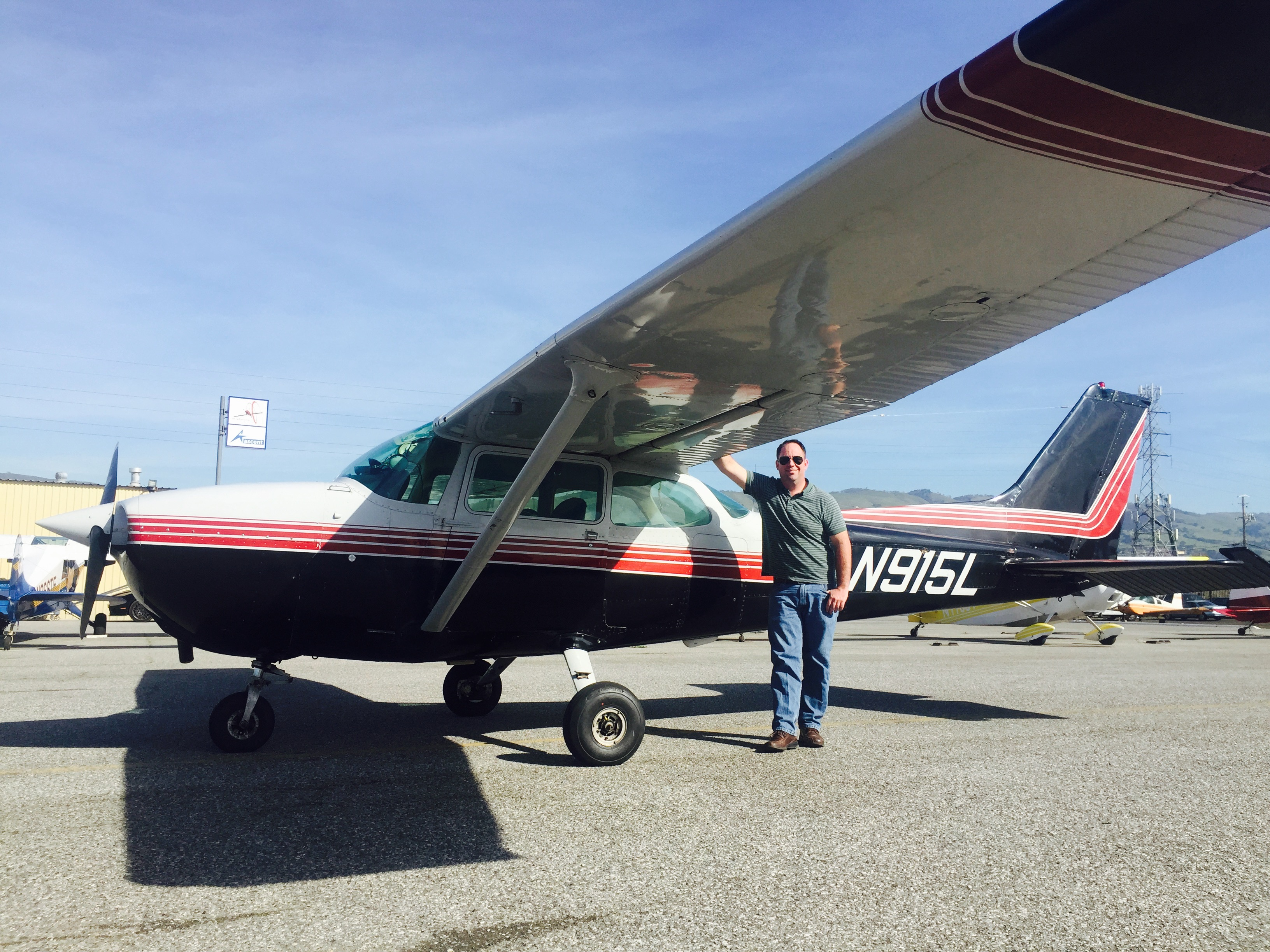 first solo, cessna