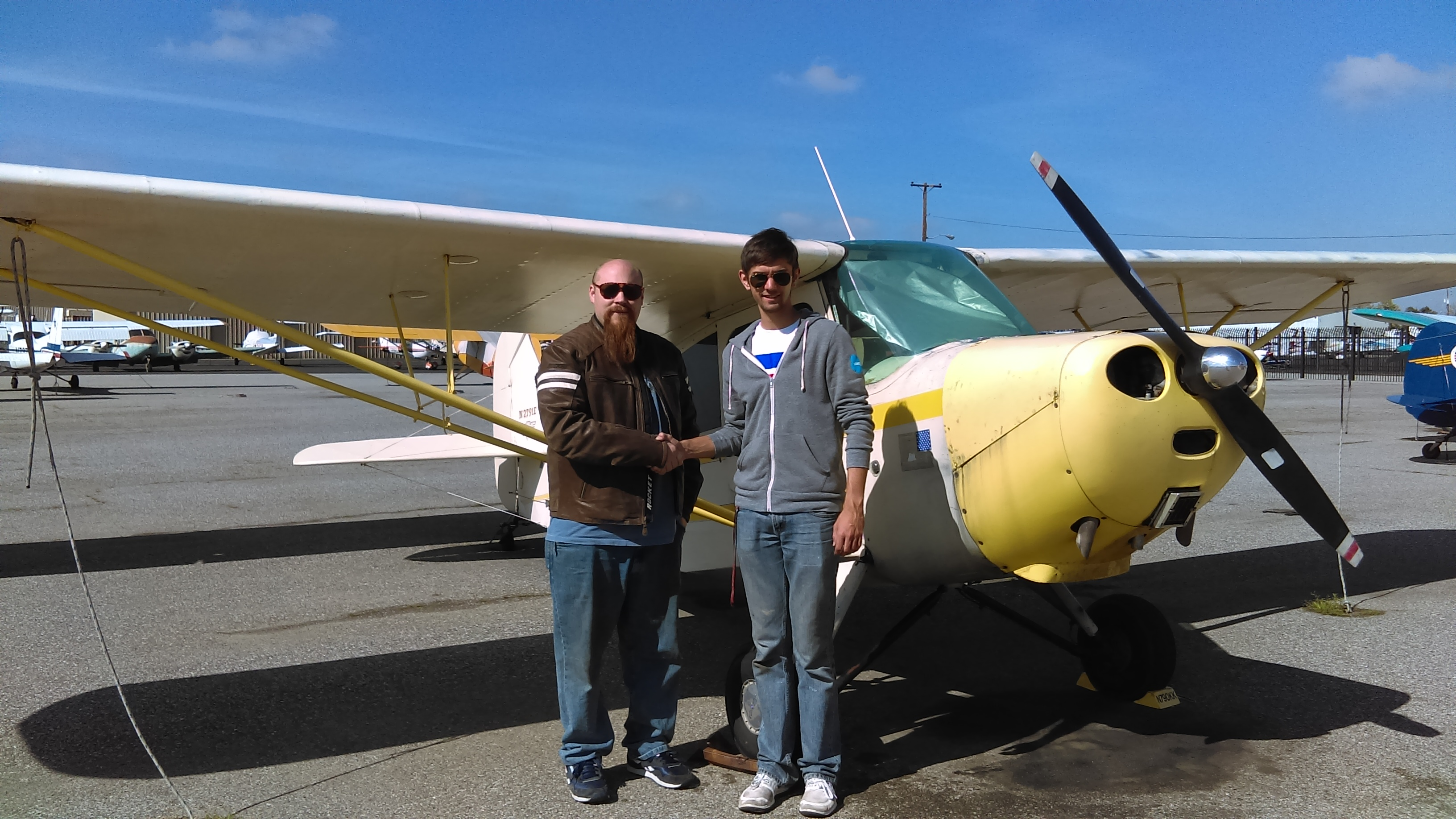 Champ, tailwheel endorsement, tailwheel