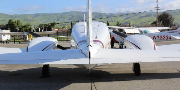 Aerodynamic Aviation » N40DA – Twin Comanche