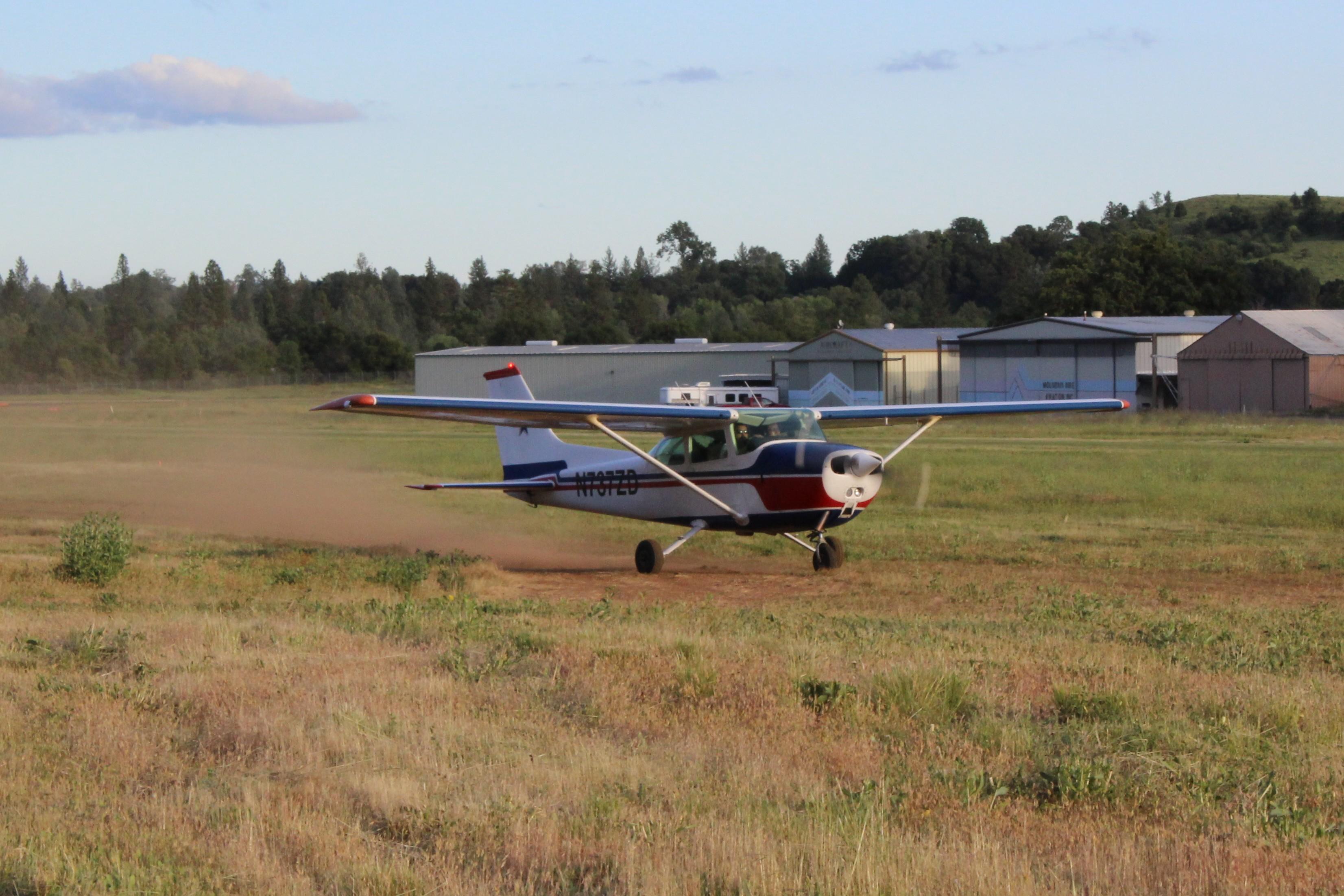 172, grass runway