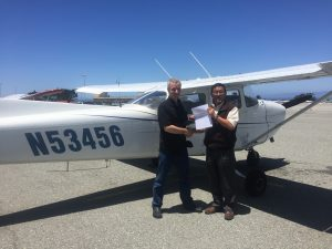 KMRY, PPL, pilot license