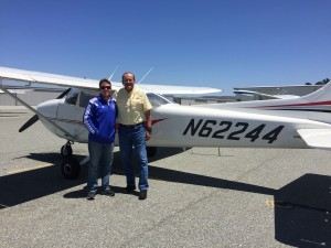 first solo, C172, KMRY