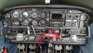 Piper Arrow panel