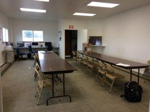 aviation classroom, KRHV