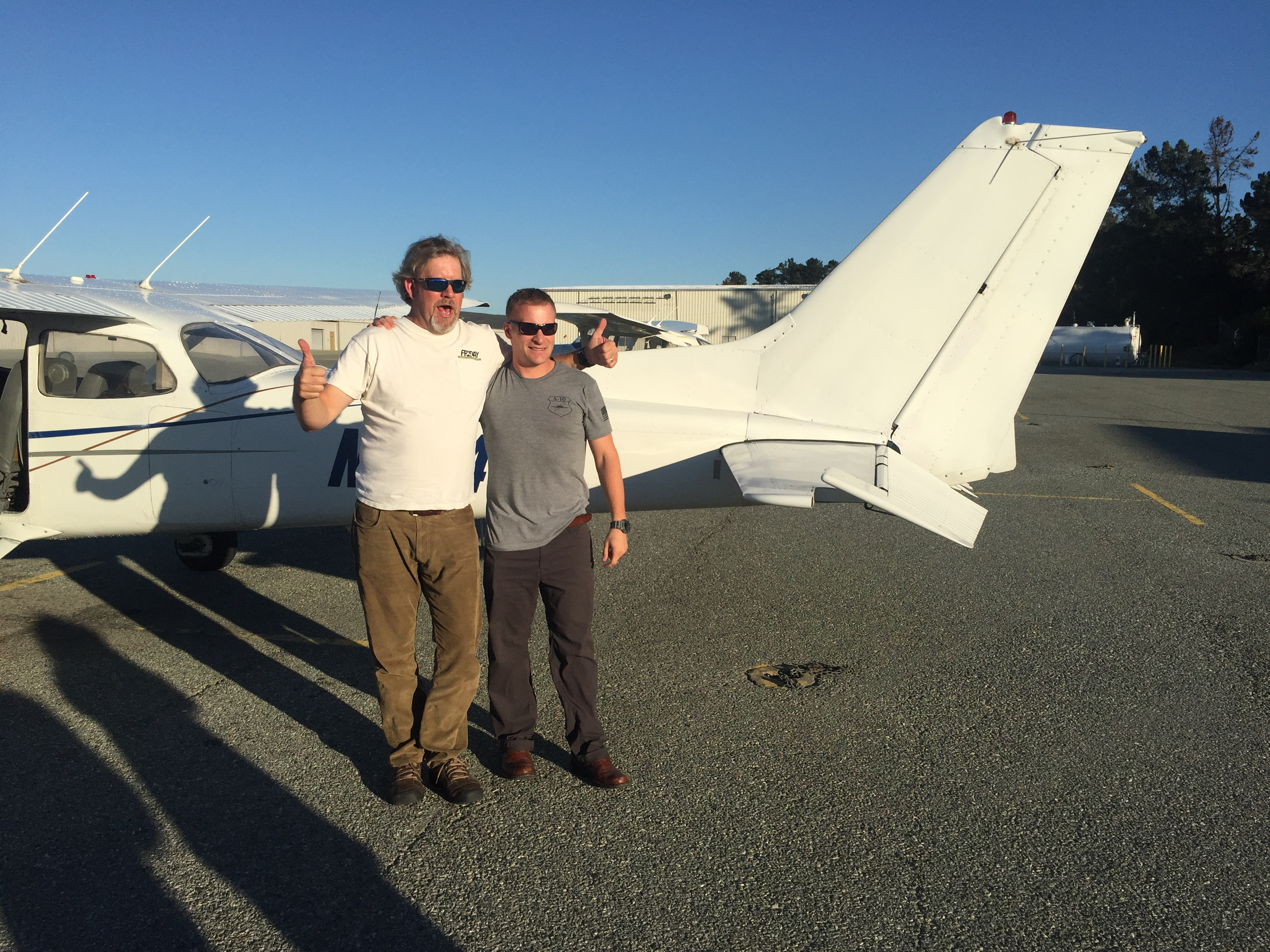 first solo, Cessna 172, KMRY