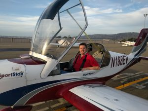 first solo, flight training, SportStar, LSA