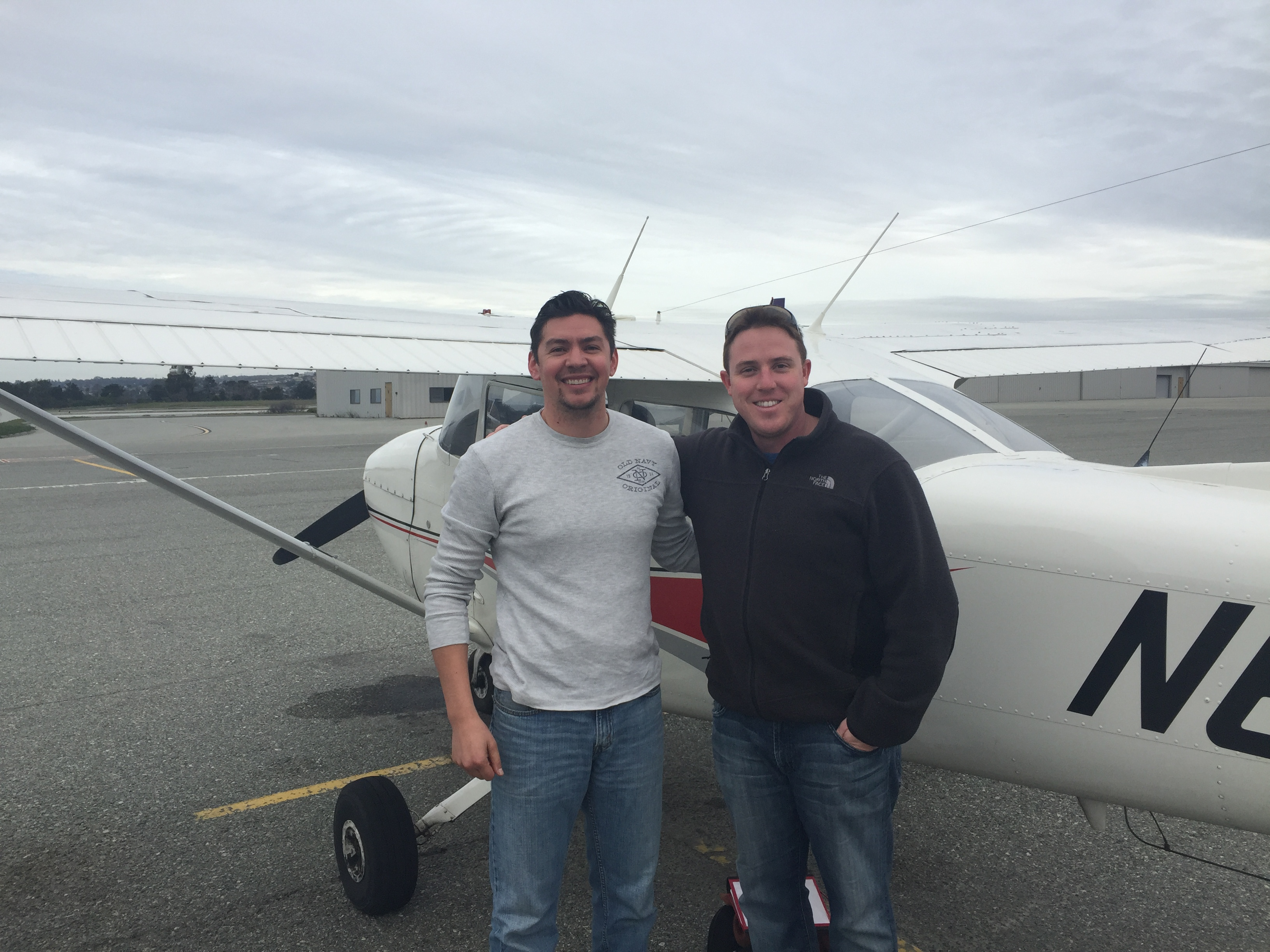 first solo, KMRY, Cessna172