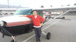 solo, Cessna 172, KRHV