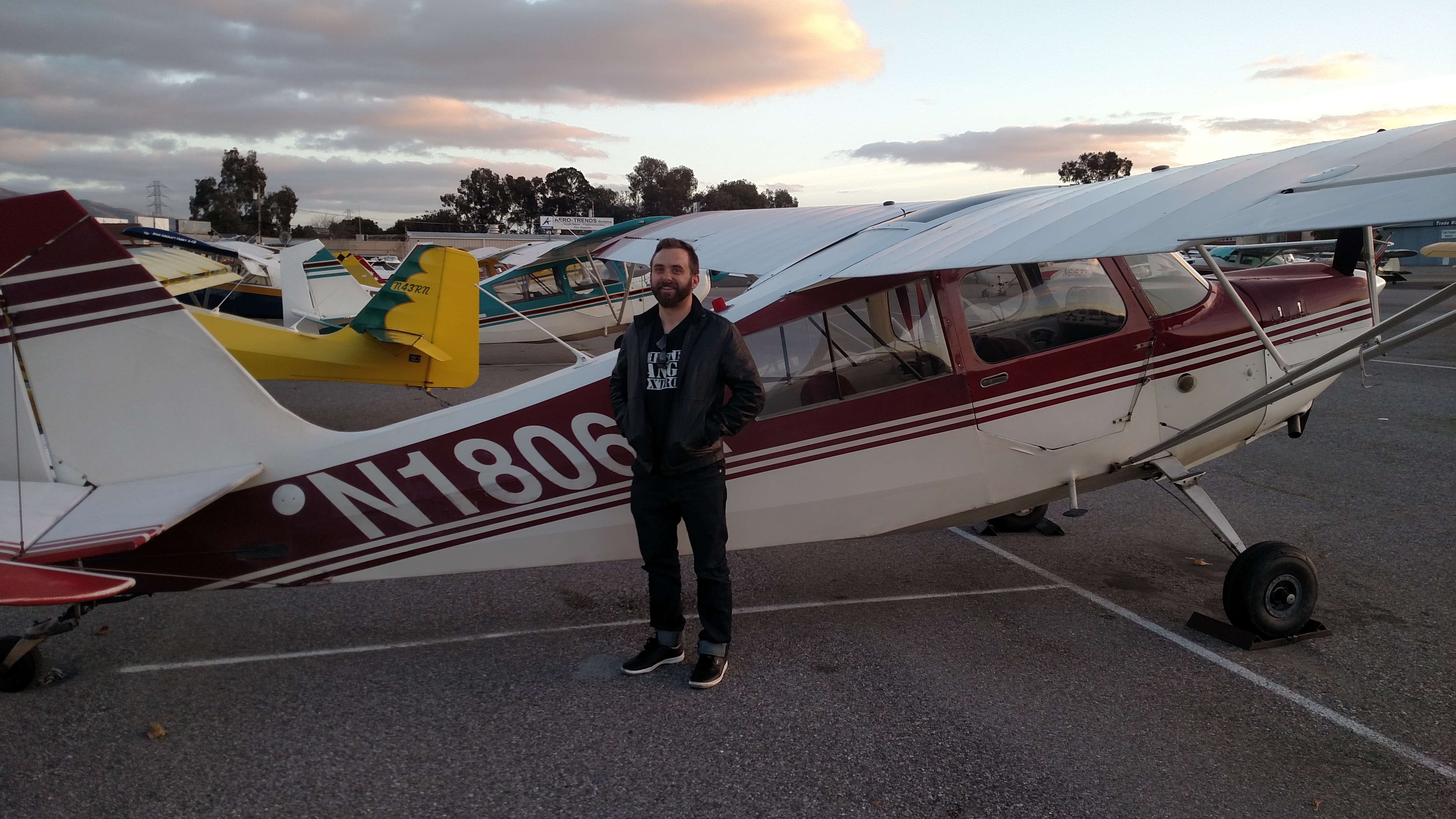 first solo, Citabria, 7ECA, tailwheel training