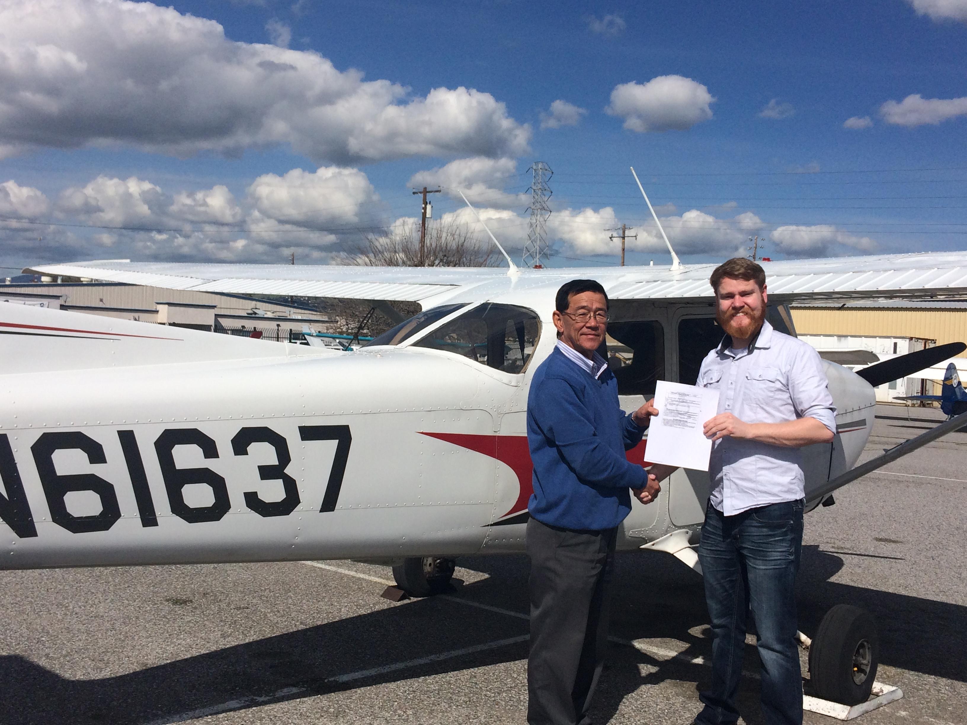 Cessna, checkride, pilot
