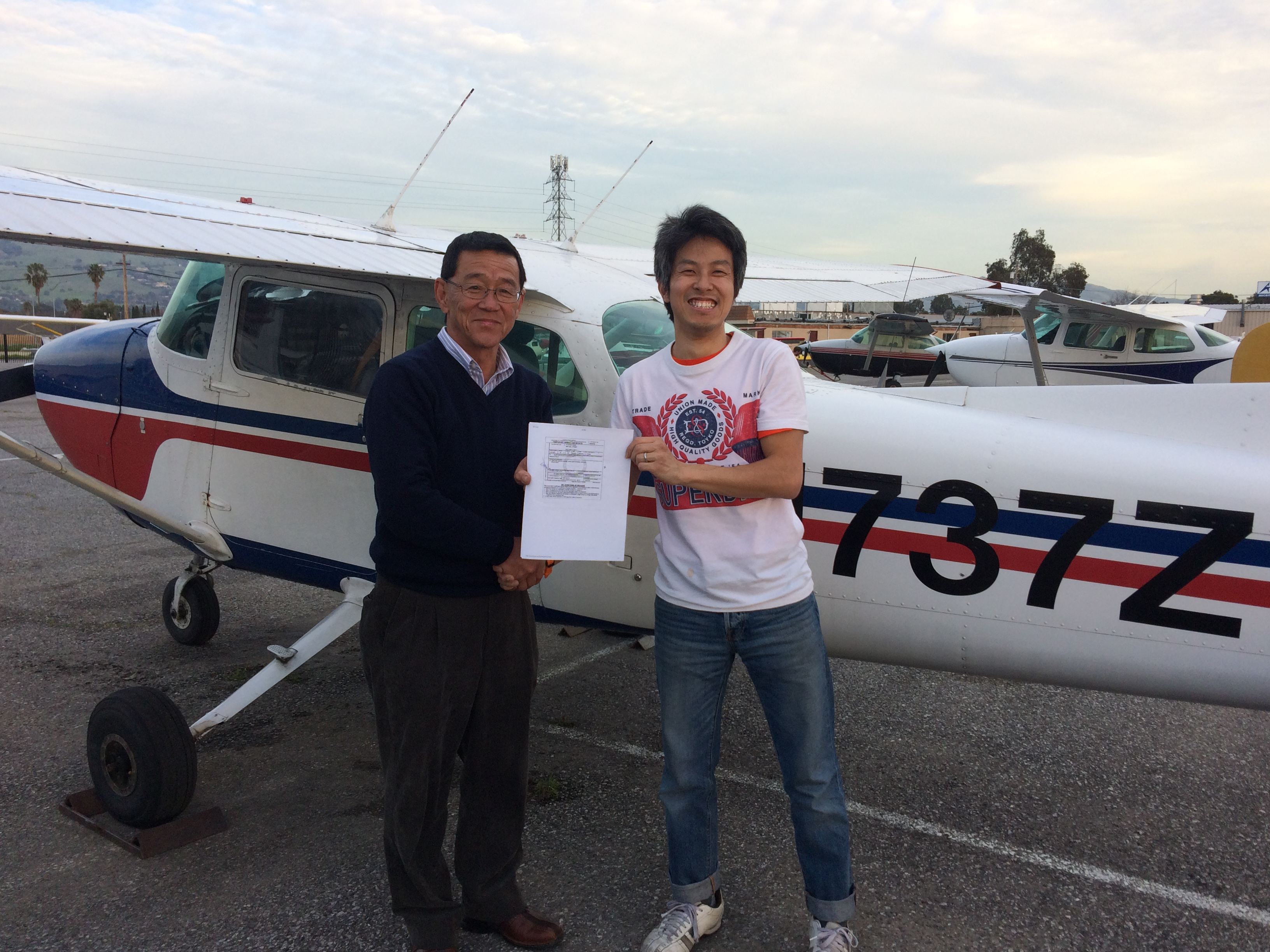 checkride, Cessna 172, private pilot