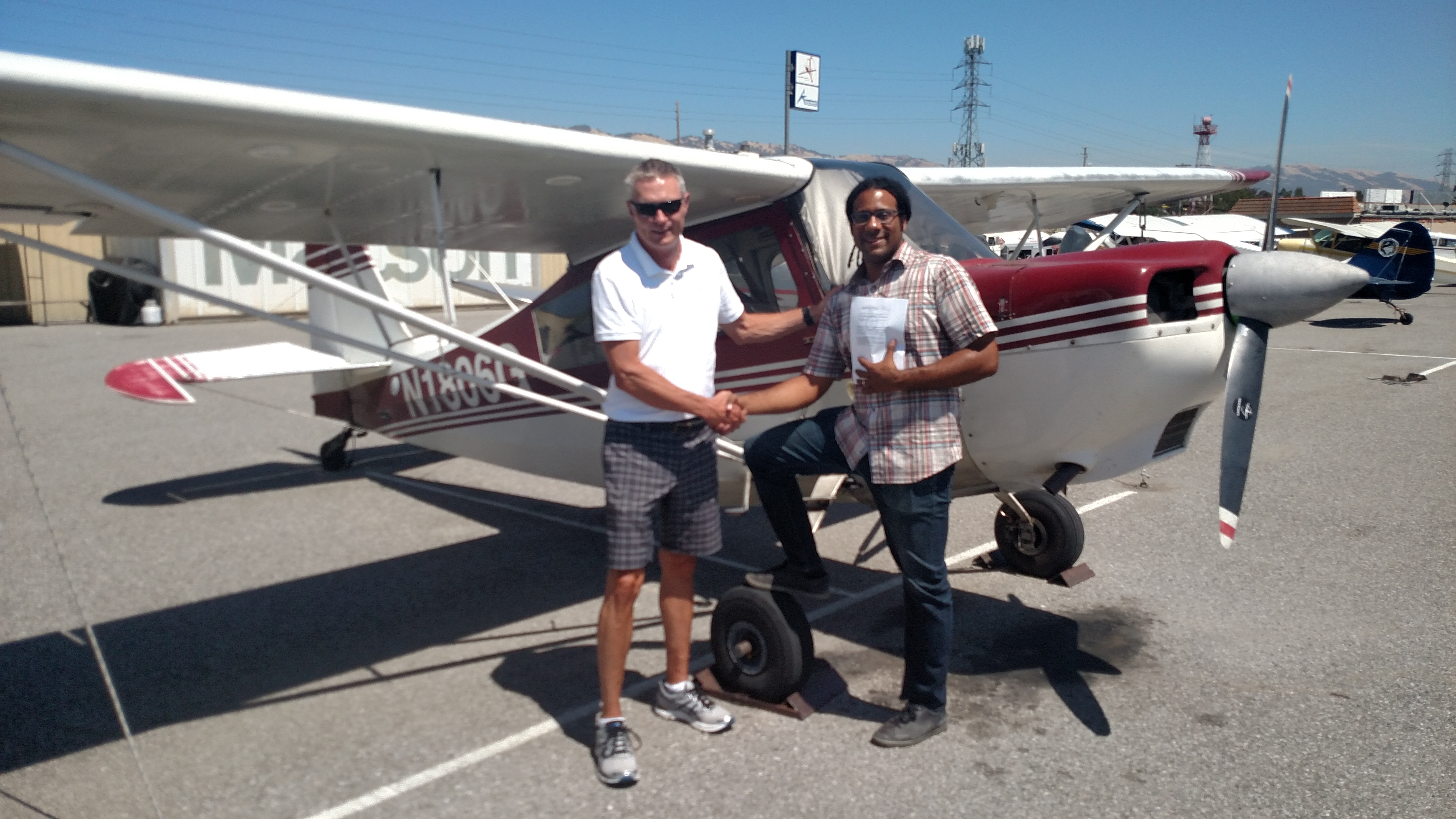 tailwheel, checkride