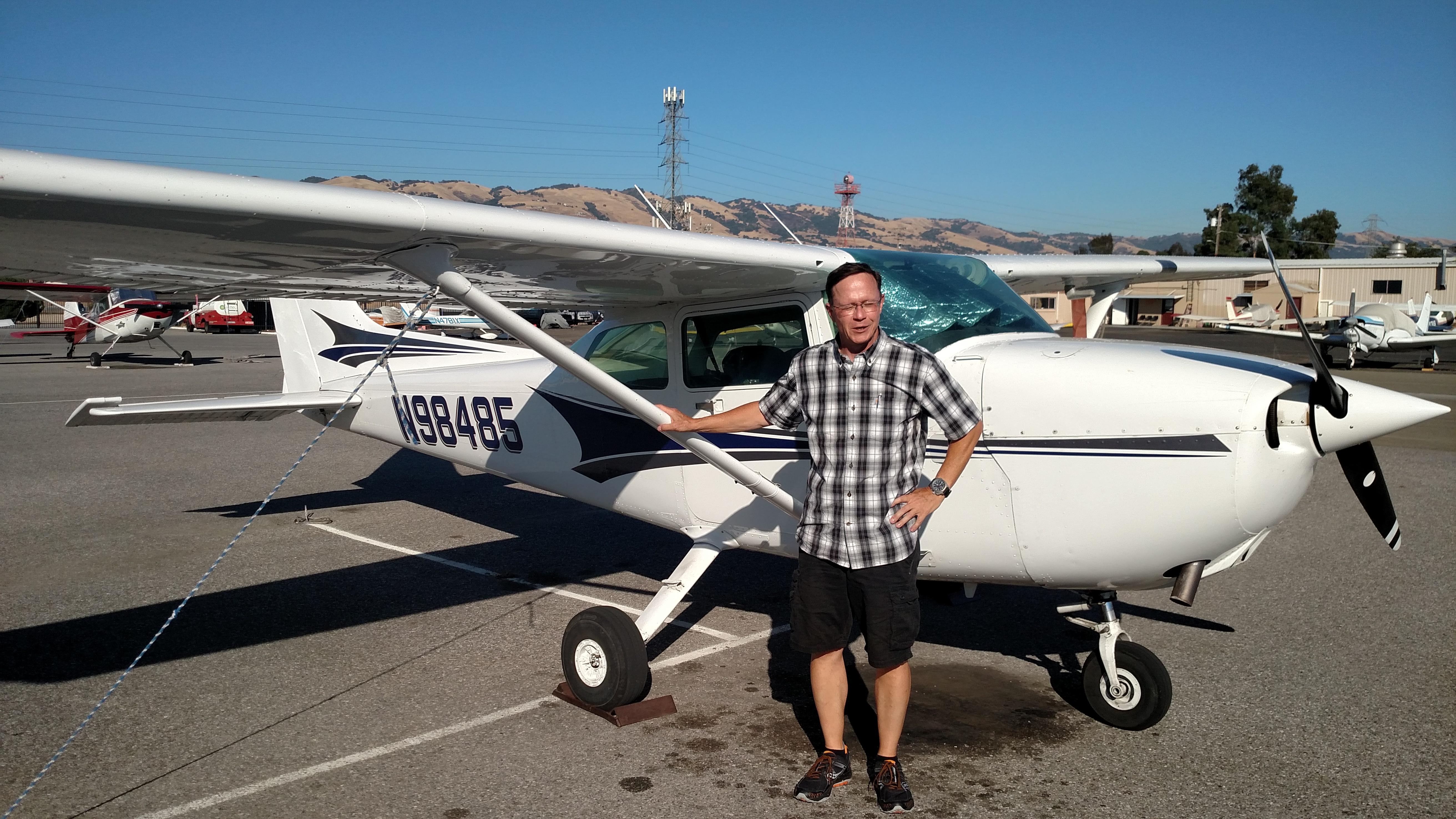 Cessna 172, san jose