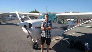 Cessna, pilot, krhv