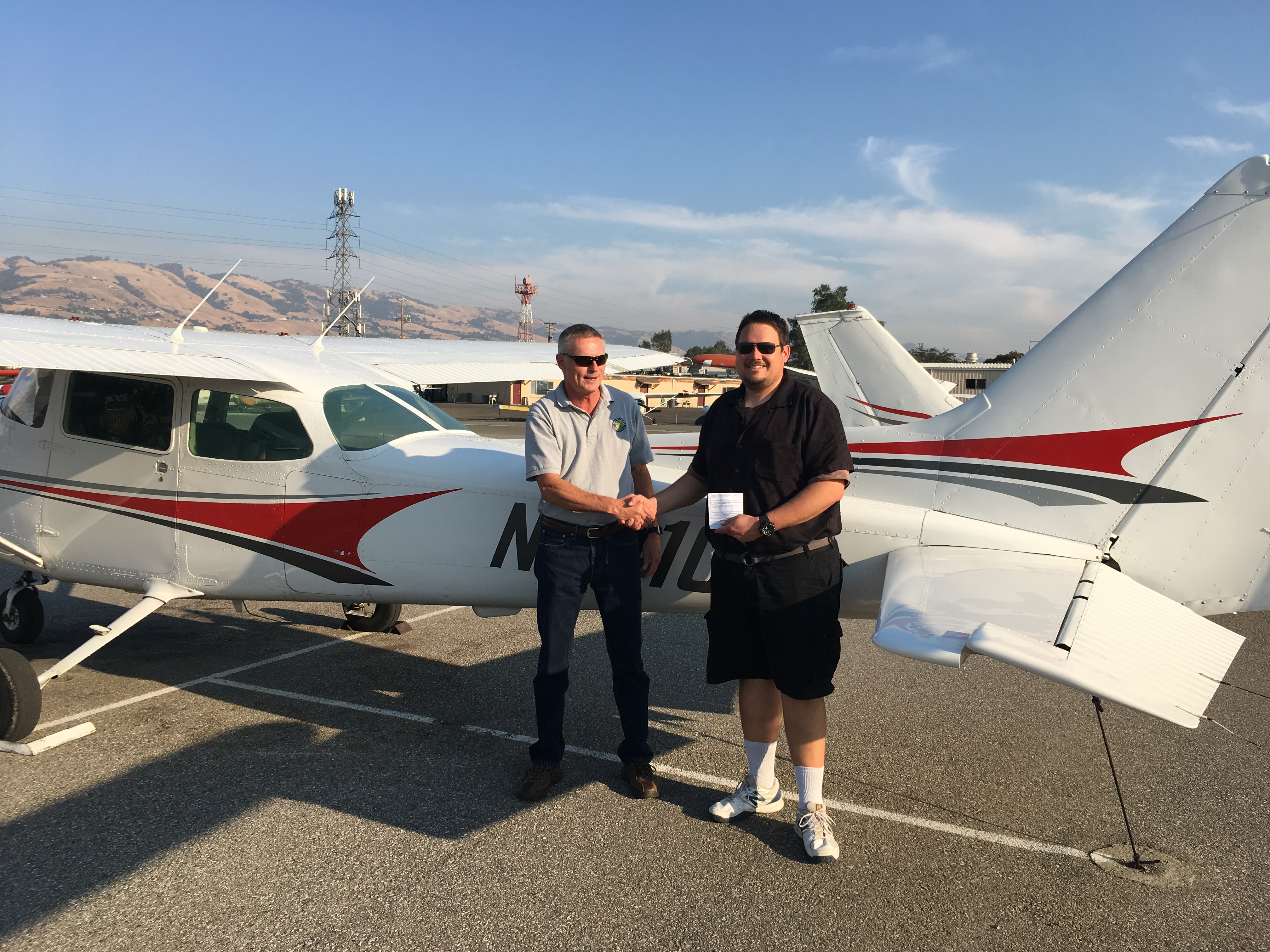san jose, checkride, cessna