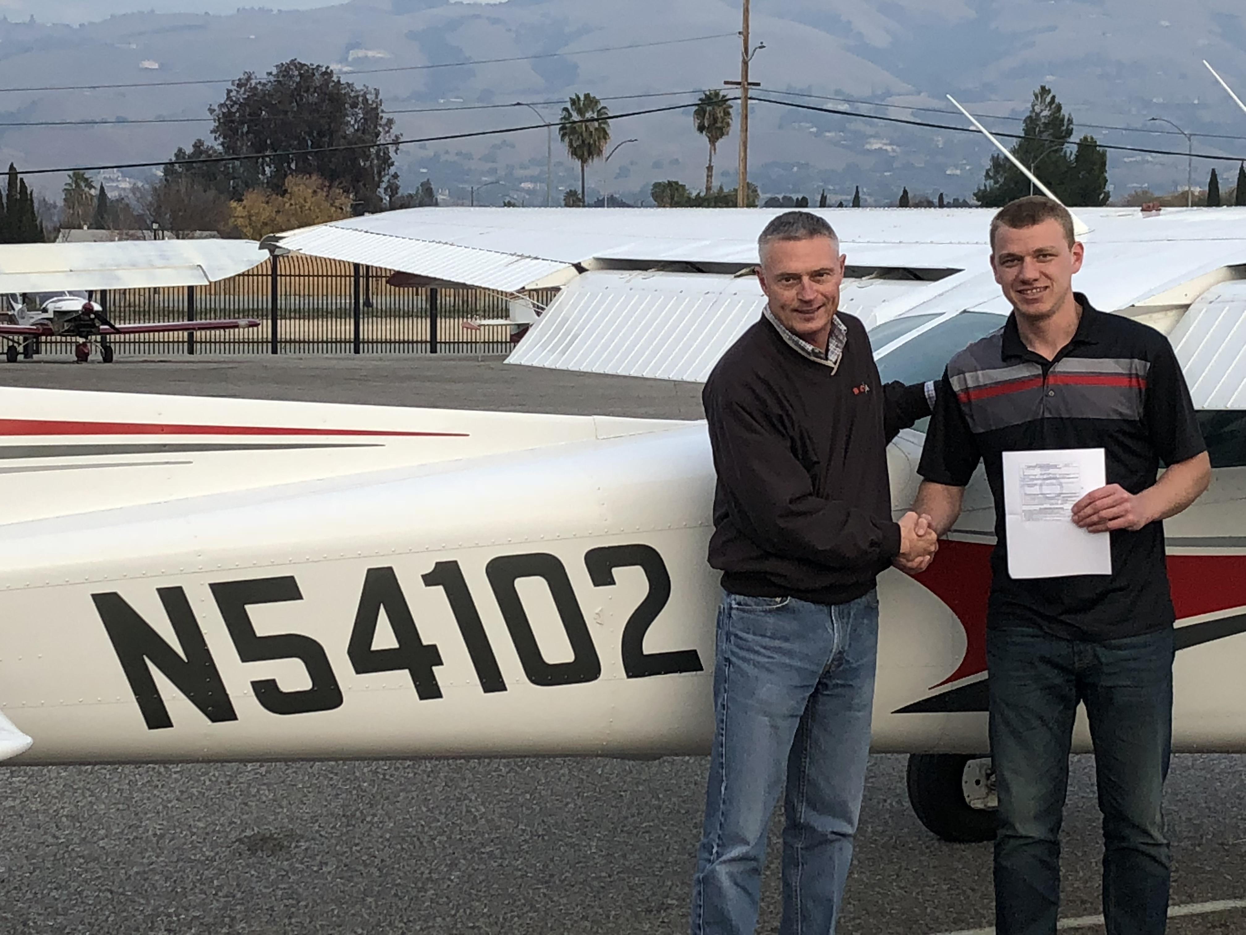 private pilot, checkride, flight