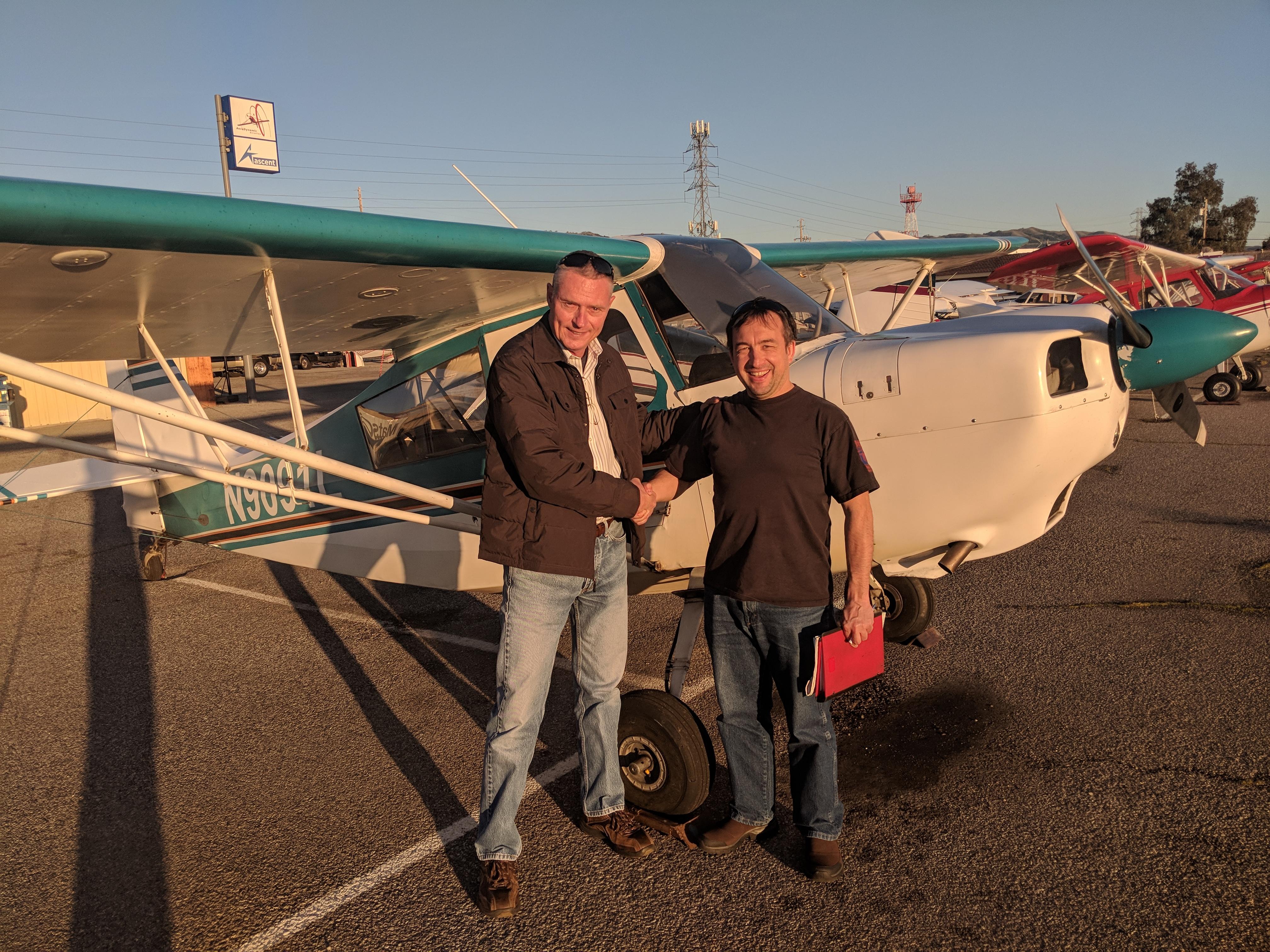 citabria, checkride, pilot