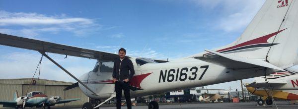 First Solo Flight – Sergei Pichugin