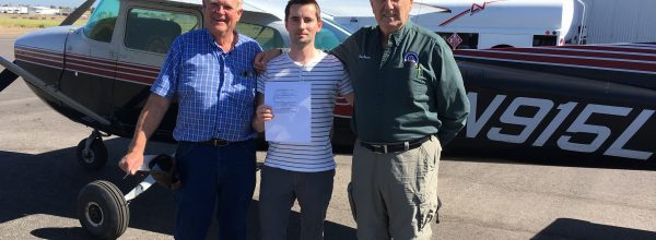 New Private Pilot – Julien Pourtet
