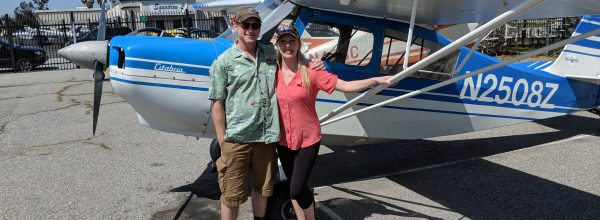 First Solo Flight – Jenna Hinton