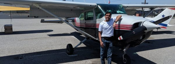 First Solo Flight – Prad Kikkeri