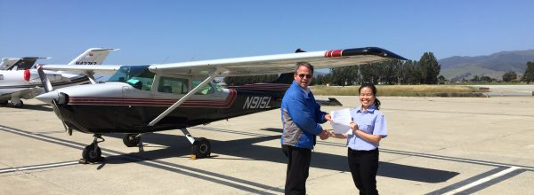 New Private Pilot – Thao Do