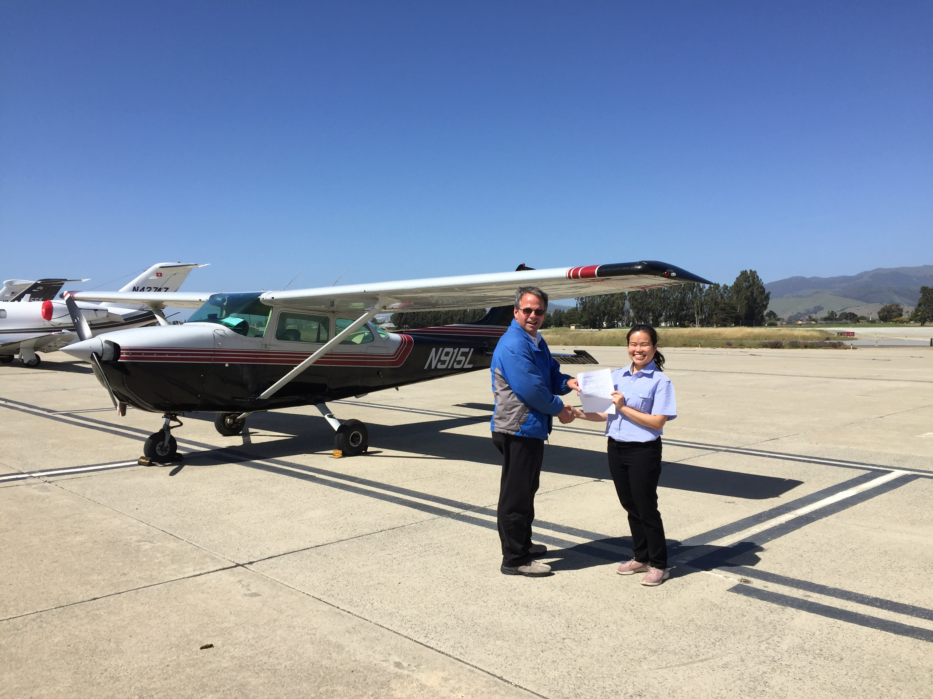 pilot license, checkride, cessna