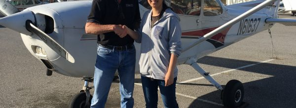 New Private Pilot – Peng Xue