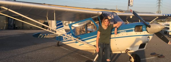 First Solo Flight – Ryann Powell