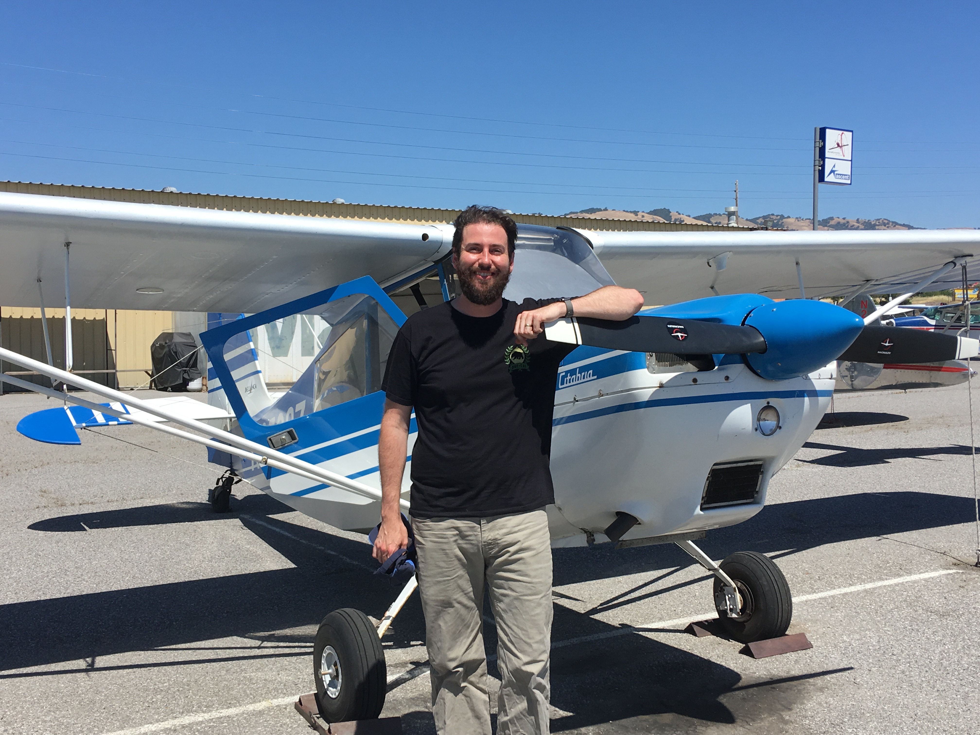 Citabria, N2508Z, checkride