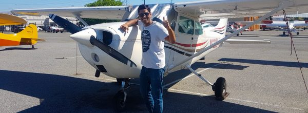 First Solo Flight – Prashant Saxena