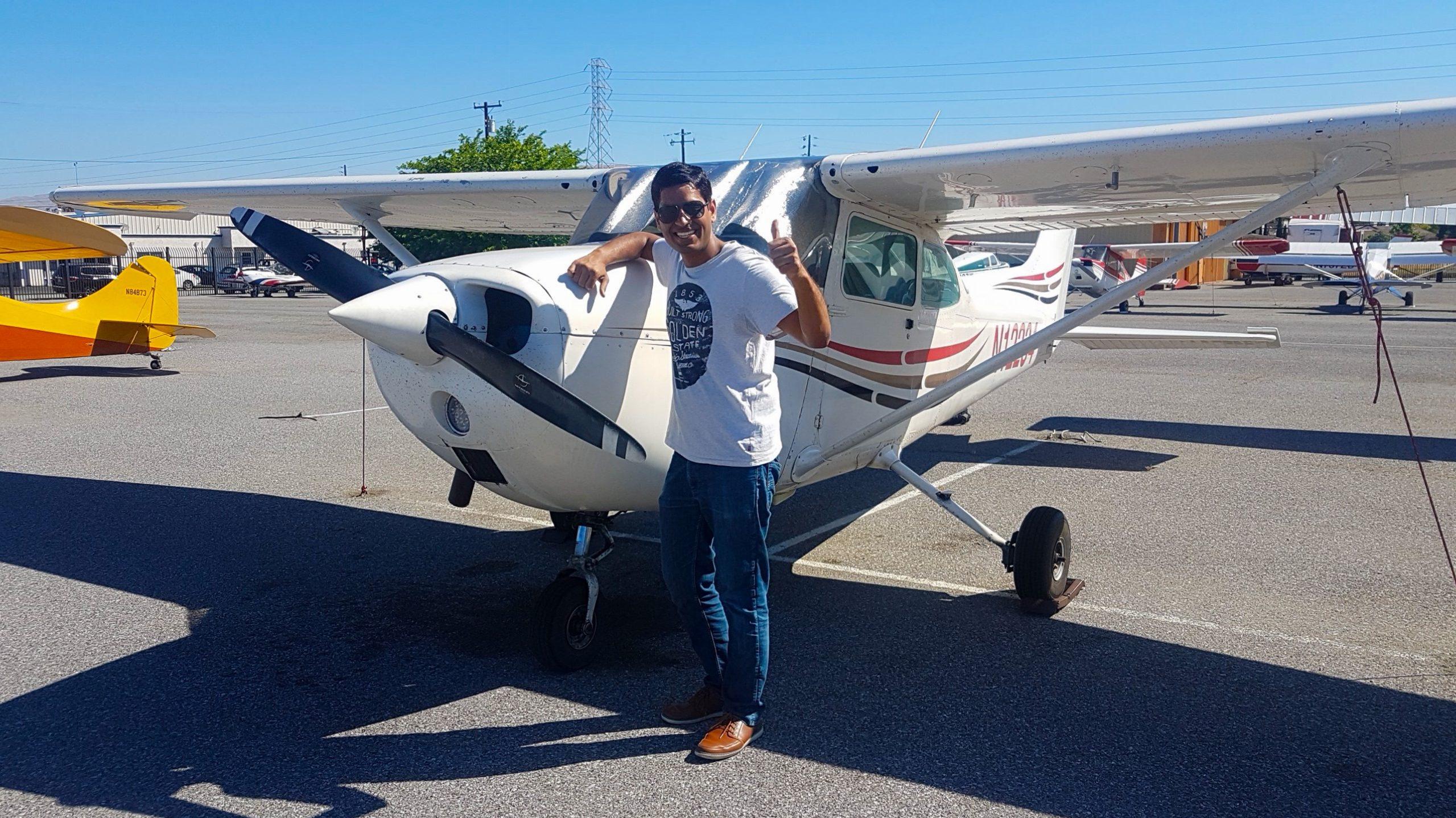 solo, pilot, N12234