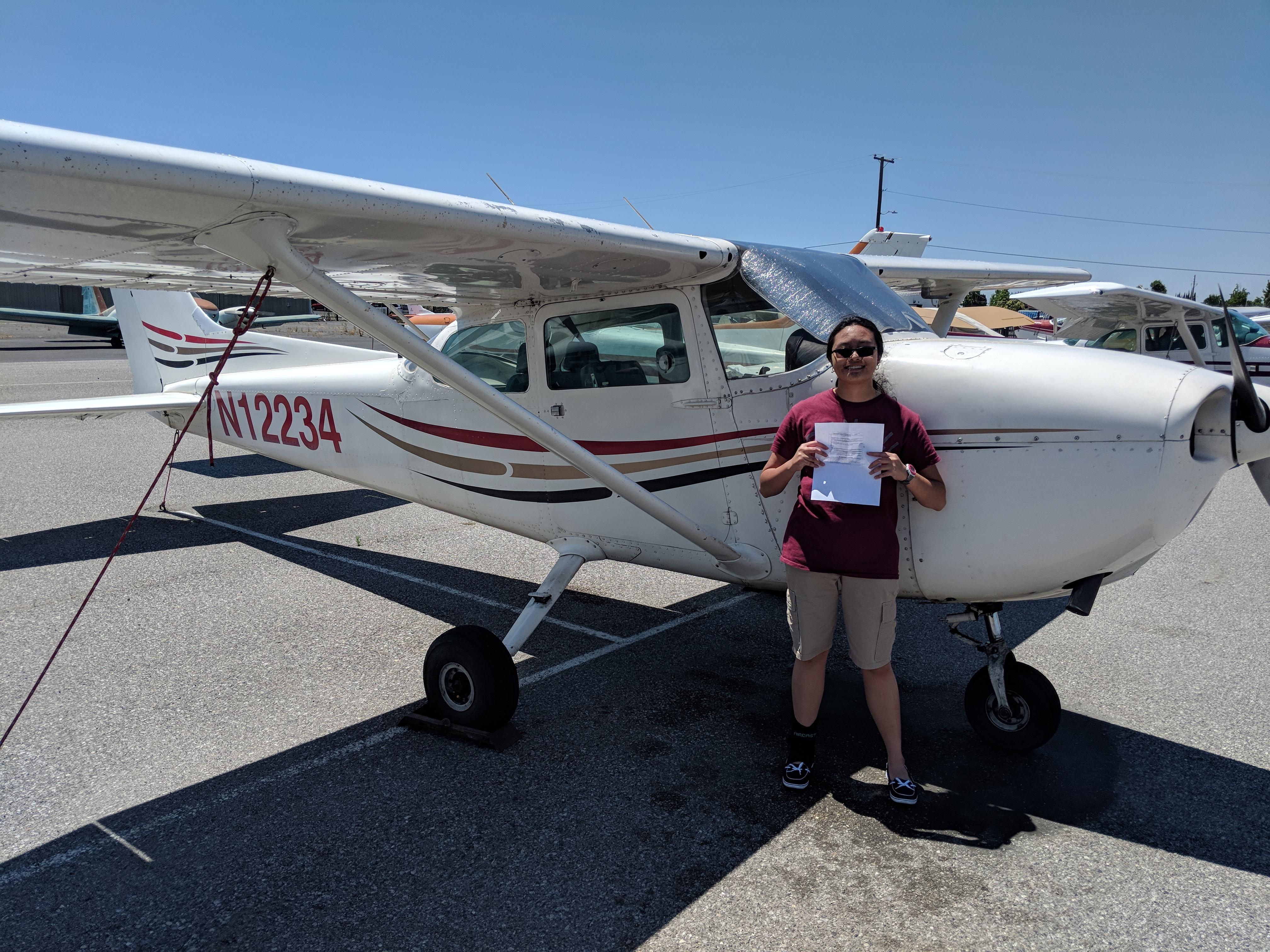 pilot, N12234, KRHV