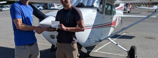 New Private Pilot – Matthew Tripp