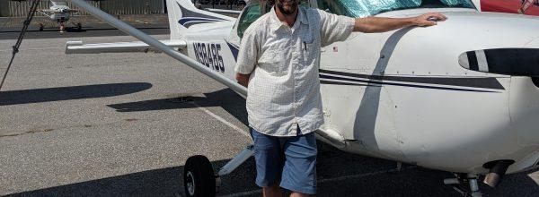 First Solo Flight – Jason Davis