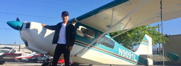 First Solo Flight – Ruofan Ding