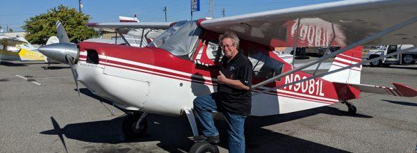 First Solo Flight – Bill Reed