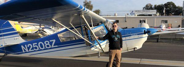 First Solo Flight – Adam Jansen