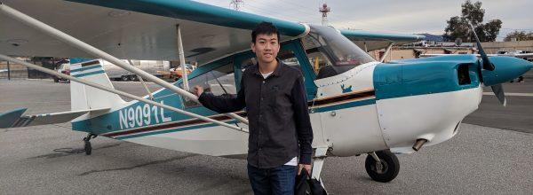 First Solo Flight – Edgar Xiong